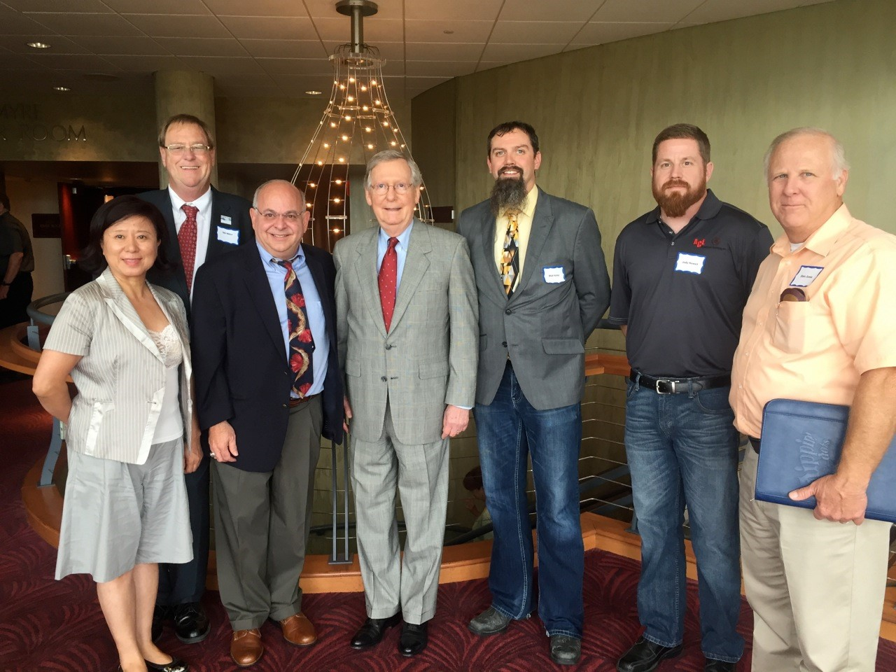 KY Exporters with Senator McConnell - July 1 2015